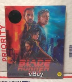New Blade Runner 2049 3d+2d Blu-ray Lenti Slip Steelbook! Kimchidvd+region Free
