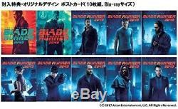 New Blade Runner 2049 Blu-ray Steelbook Post Card First Limited Edition Japan