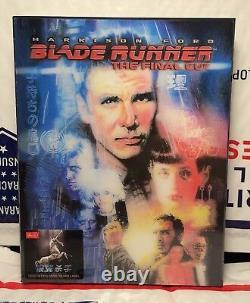 New Blade Runner 4k Uhd+blu-ray Double Lenti Slip Steelbook! Hdzeta+500! Rare