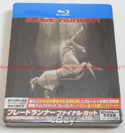 New Blade Runner Final Cut Limited Edition 3 Blu-ray Steelbook Japan English
