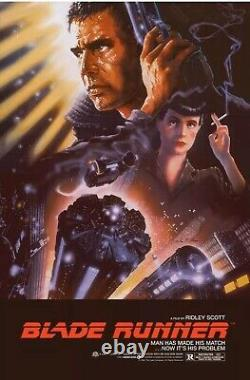 Officially Licensed Blade Runner By John Alvin Screen Print 24x36 NT Mondo