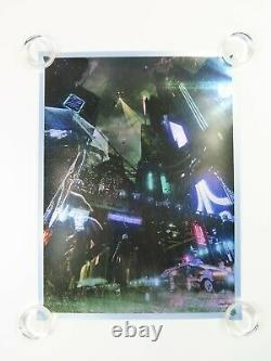 Oliver Rankin Under the Iron Sky Blade Runner Foil Art Print Movie Poster #/25