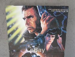 Original 1982 Blade Runner Theater Lobby Display 58 x 36.5 Only one Known
