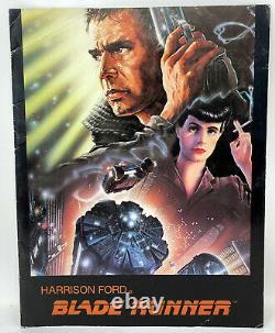 Original 1982 Harrison Ford Rutger Hauer Sean Young Blade Runner Promo Booklet