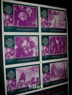 Original BLADE RUNNER Rare Australian LOBBY CARD O/S POSTER Hauer HARRISON