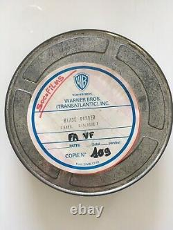 Original vintage 35mm 1992 Blade Runner Director's Cut Theatrical Movie Trailer