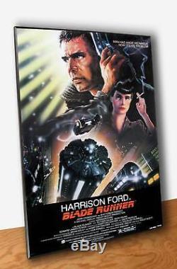 Poster Film Blade Runner Locandina Stampa su Tavola Quadro su Pannello MDF