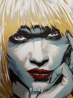 Pris (Blade Runner) Silkscreen Movie Poster Art Rhys Cooper 2017 Ltd Ed (150)
