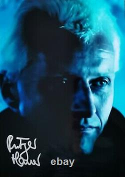 RUTGER HAUER Blade Runner original signed autographed photo 8x10 ACOA certified