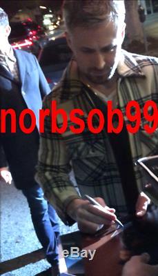 RYAN GOSLING SIGNED BLADE RUNNER 2049 11x14 PHOTO withEXACT PROOF BECKETT BAS COA
