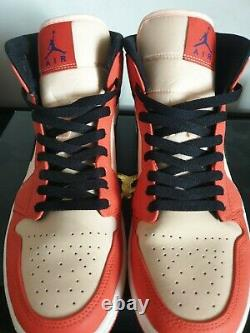 Rare Air Jordan 1 Mid SE Team Orange US 10.5 SOLD OUT Preowned VNDS