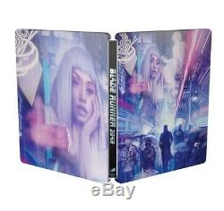 Rare Blade Runner 2049 4K UHD + 3D Bluray Mondo Steelbook HMV rare + 2D