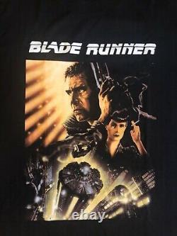 Rare Vintage 90s Blade Runner Movie T Shirt Size L