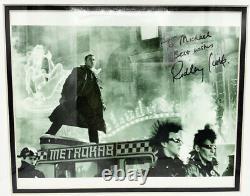 Ridley Scott Blade Runner Signed Autographed Framed Photo Movie Still