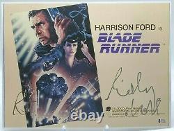 Ridley Scott Signed Bladerunner 16x12 Photo BAS Beckett Certified