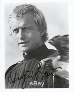 Rutger Hauer Autograph Signed Photo Blade Runner Poseidon COA VF