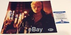 Rutger Hauer Blade Runner Roy Batty Signed 8x10 Photo B Beckett Bas