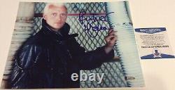 Rutger Hauer Blade Runner Roy Batty Signed 8x10 Photo Beckett Bas