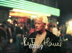 Rutger Hauer HAND SIGNED 12x8 BLADE RUNNER Roy Batty Photograph In Person COA