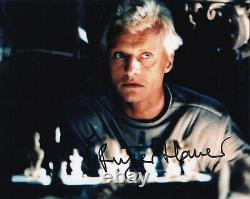 Rutger Hauer Signed 8x10 Inch Photo Blade Runner Roy Batty Batman Begins