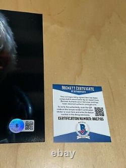Rutger Hauer Signed Autographed Blade Runner 8x10 Photograph Beckett BAS COA