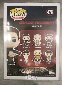 Ryan Gosling Blade Runner Movie SIGNED Autographed FUNKO POP #476 PSA COA
