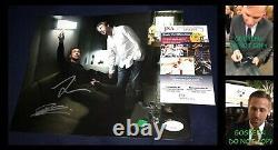 Ryan Gosling signed 8x10 photo Denis Villeneuve Blade Runner 2049 poster JSA