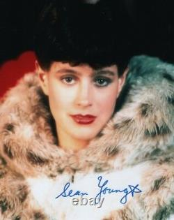 SEAN YOUNG Signed BLADE RUNNER RACHAEL Photo with Hologram COA