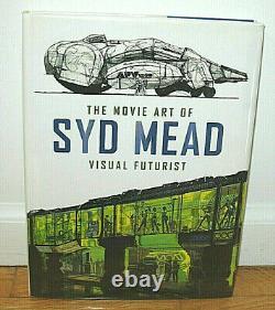 SIGNED Syd Mead The Movie Art of Visual Futurist Star Trek Blade Runner Aliens