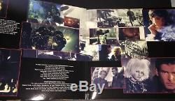 Signed Ridley Scott Bladerunner Reissue Soundtrack Vinyl Rare Harrison Ford