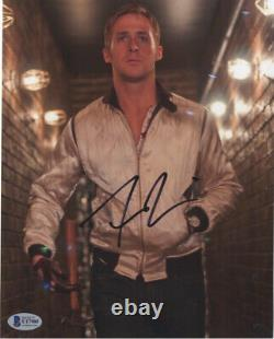 Signed Ryan Gosling Drive 8x10 Blade Runner Photo Beckett Autograph Bas Coa