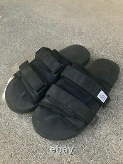 Suicoke moto cab Black size 9 Platform Sandals Slippers Suicoke Visvim yeezy
