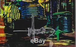 Syd Mead Signed 4x6 Photo Tron Blade Runner Gundam Sentury Alien Art