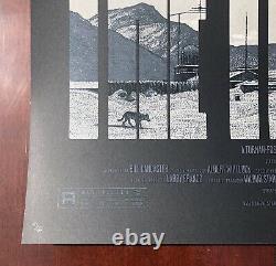 THE THING silkscreen poster Krzysztof Domaradzki blade runner artist VARIANT #d