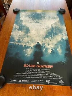 Te Vagy a Blade Runner Screen print by Karl Fitzgerald Regular 13 of 95