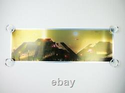 The Pyramid Blade Runner Pablo Olivera Foil Variant AP Movie Art Print Poster