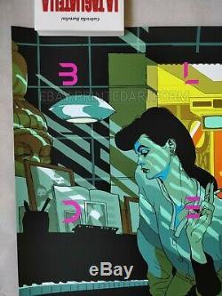 Tomer Hanuka Blade Runner Movie Screen Print Edition of 45