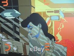 Tomer Hanuka Blade Runner Variant Screen Print Movie Poster Mondo Artist RARE