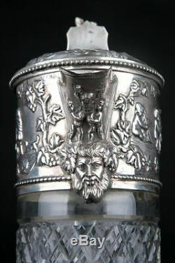 Topazio Crystal & Silver Claret Jug as used in Blade Runner Tyrell Corp Prop
