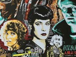 Untitled Blade Runner Reg AP James Rheem Davis JRD Movie Screenprint SIGNED