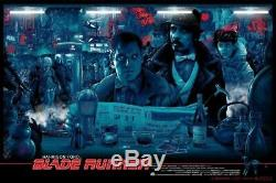 Vance Kelly Blade Runner Mondo Movie Screen Printed Poster 24 x 36