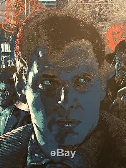 Vance Kelly Blade Runner Ridley Scott Harrison Ford Art Print Movie Poster Mondo