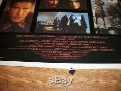 Very Rare Blade Runner Movie Poster Promo