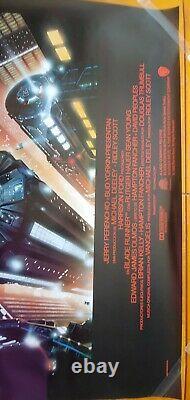 Vintage 1992 movie posters Blade Runner, directors cut, international 27x40