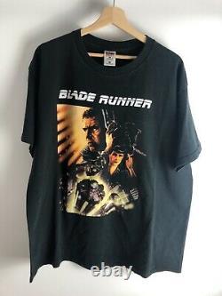 Vintage Blade Runner Movie Promo T-shirt XL Ridley Scott Aliens Cyberpunk 90s