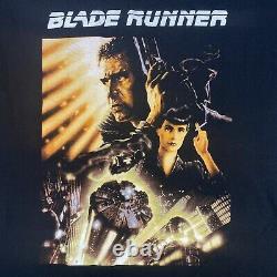 Vintage Blade Runner Shirt 1996 Movie Promo Graphic T-Shirt Adult Large 20.5x29