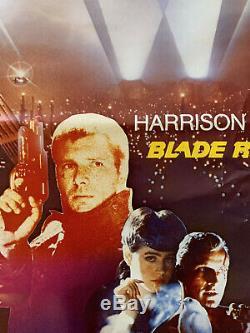 Vintage Original Blade Runner FRENCH 1-Sheet Rolled Poster
