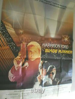 XL Filmplakat, BLADE RUNNER, HARRISON FORD, RUDGER HAUER, Science-Fiction#12